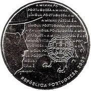 2,50 euros Langue portugaise (cupronickel) – avers