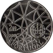 2½ euros Monastère des Hiéronymites  (cupronickel) – avers