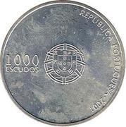 1000 escudos Euro 2004 – avers
