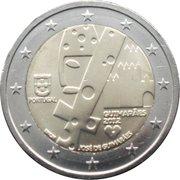 2 euros Guimarães -  avers