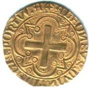 Cruzado - Alphonse V – revers