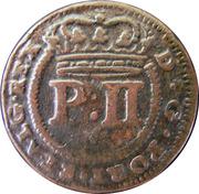 5 réis -  Pierre II – avers