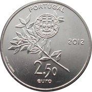2,50 euros JO 2012 Jeux d'été de Londres (cupronickel) – avers
