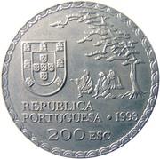 200 escudos Art namban – avers