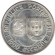 1000 escudos Jean II -  avers