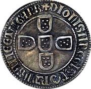 Tornês - Denis I – revers
