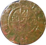 ½ tornês atípico (Lisbonne) - Ferdinand I – avers