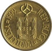 5 escudos -  avers