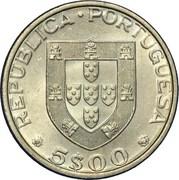 5 escudos FAO – avers