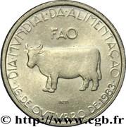 5 escudos FAO – revers