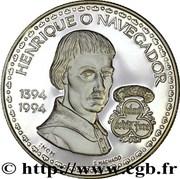 200 escudos  Henri le navigateur (argent) – revers