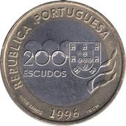 200 escudos Olympiques de Atlanta -  avers