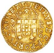Moeda - Piérre prince regent -  avers