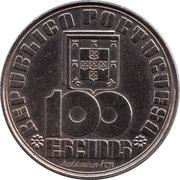 100 escudos Fernando Pessoa – avers