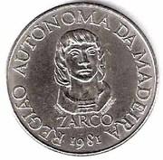 100 escudos Autonomie régionale de Madeira – revers