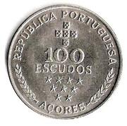 100 escudos Autonomie régionale des Açores – revers