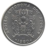 25 escudos Région autonome des Açores -  avers