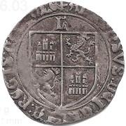 1 real grosso Alphonse V  (de Castilla & Leon) – revers