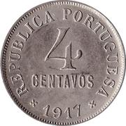 4 centavos -  revers