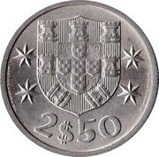 2,50 escudos -  revers