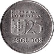 25 escudos -  revers