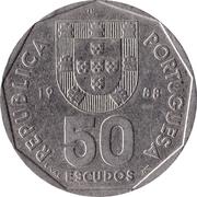50 escudos – avers