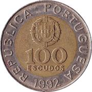 100 escudos (République) -  avers