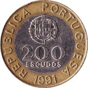 200 escudos -  avers