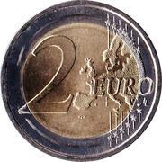 2 euros Révolution des Œillets -  revers