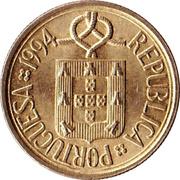1 escudo -  avers