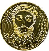 0,25 euro Luís de Camões – revers