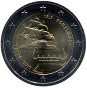 2 euros Timor -  avers