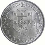 50 escudos Vasco de Gama -  avers