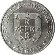 25 escudos Alexandre Herculano – avers