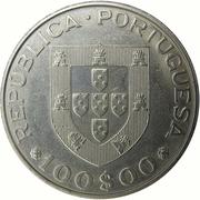 100 escudos Année internationale des personnes handicapées – avers