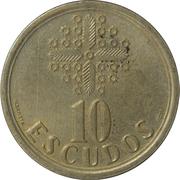 10 escudos – revers