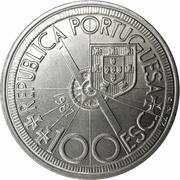 100 escudos Diogo Cao -  avers