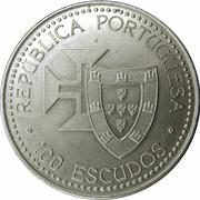 100 escudos Madère et Porto Santo – avers