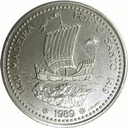100 escudos Madère et Porto Santo – revers