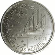100 escudos Découverte des Açores -  revers