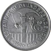 100 escudos Restauration de l'indépendance -  revers