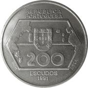 200 escudos Navigations vers l'Ouest -  avers