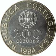 200 escudos Capitale européenne de la culture – avers