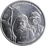 2,50 euros Capelo et Ivens (cupronickel) – revers