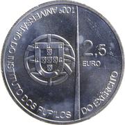2,50 euros Académie militaire (cupronickel) – avers