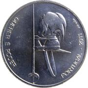 2,50 euros Académie militaire (cupronickel) – revers