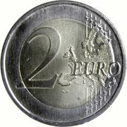 2 euros Tour des Clercs -  revers