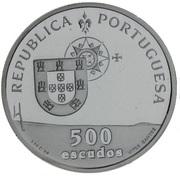 500 escudos Pont Vasco de Gama (BE) -  avers