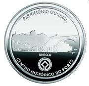 2,50 euros Centre historique de  Porto (argent) – revers