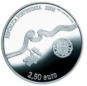 2,50 euros Région viticole du Haut-Douro (argent) – avers